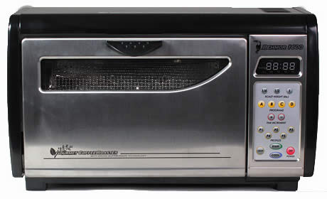 stainless steel combination microwave toaster