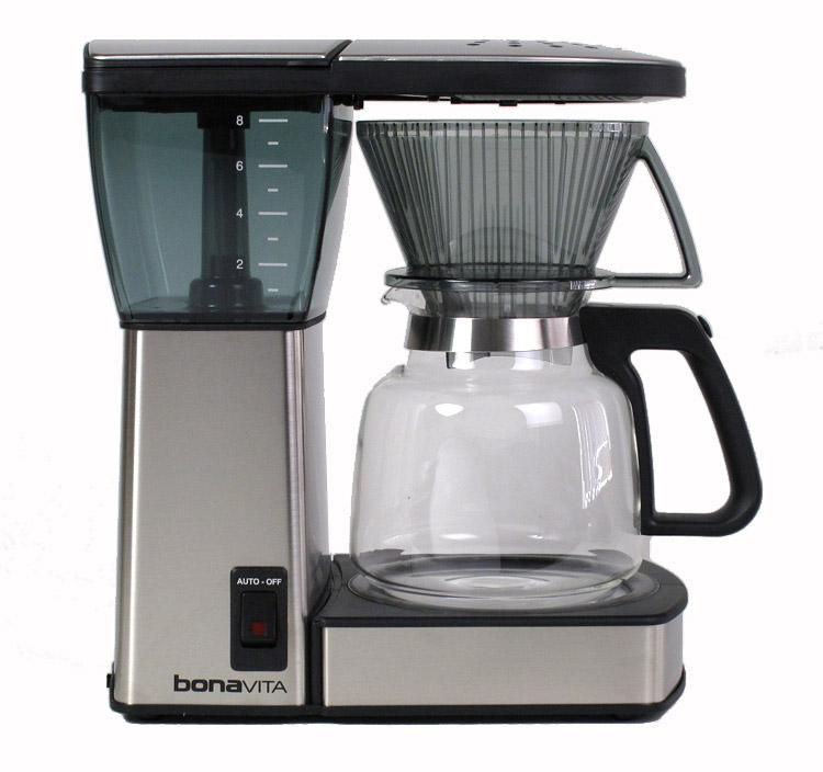Bonavita Coffee Maker Filter : Bonavita 8 cup Glass Coffeemaker Roastmasters.com