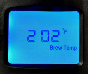 Brazen Temperature Display