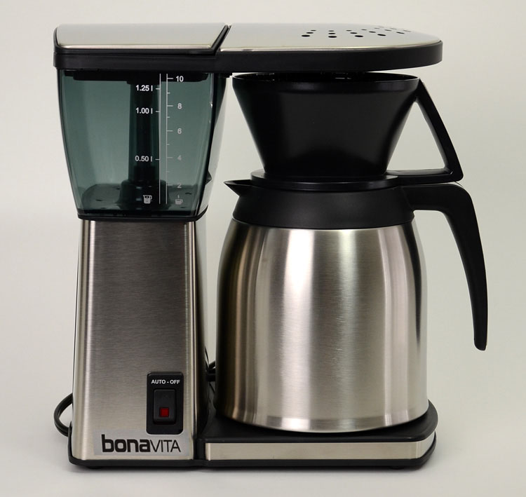 Coffee Maker Under 11 Inches Tall : Bonavita 8 cup Thermal Coffeemaker BV1800SS Roastmasters.com