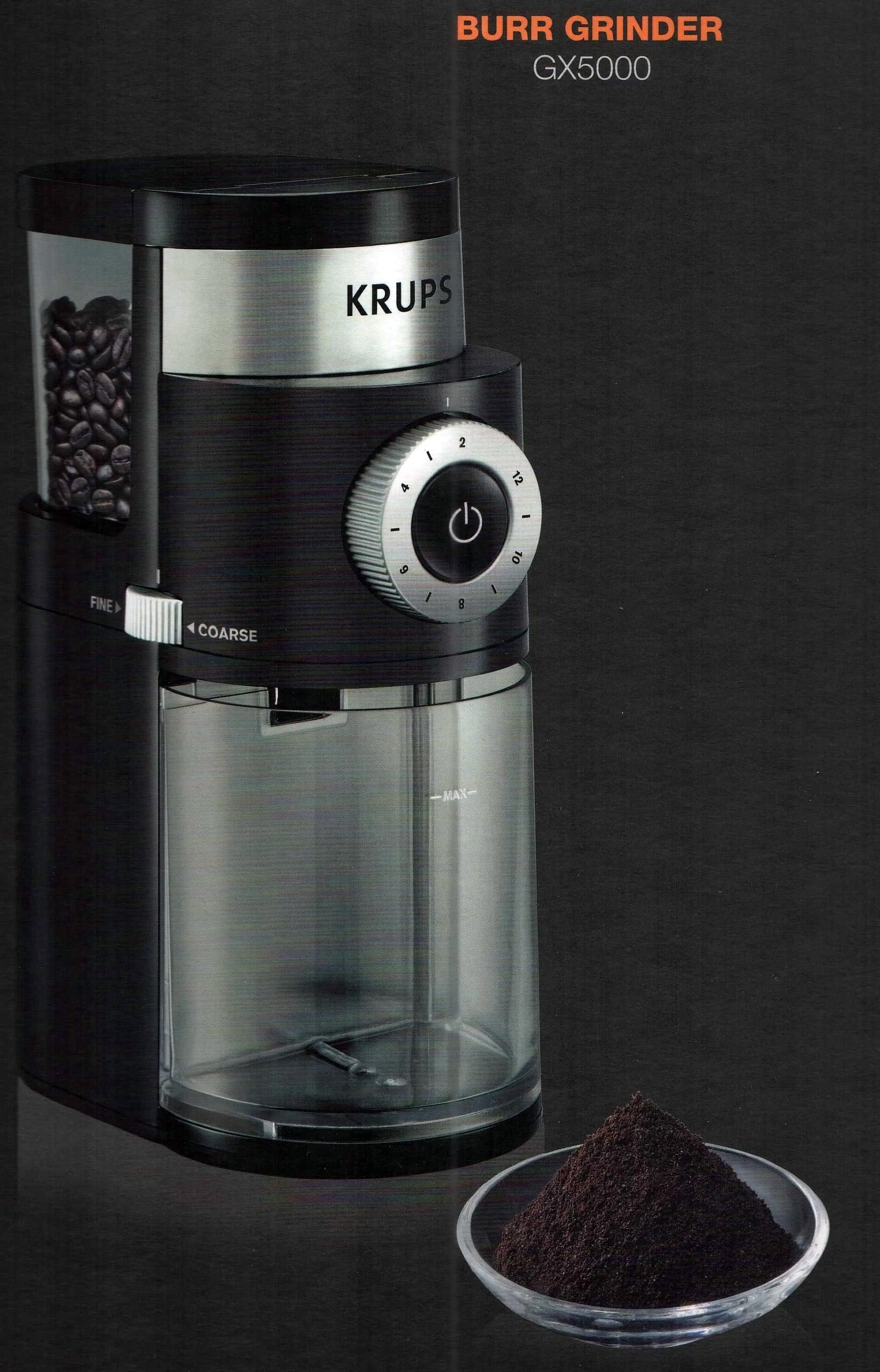 Krups GX5000 Burr Grinder