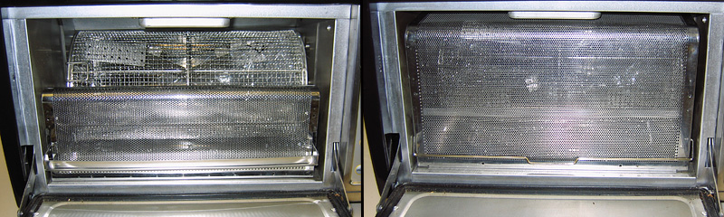 Behmor chaff tray redesign