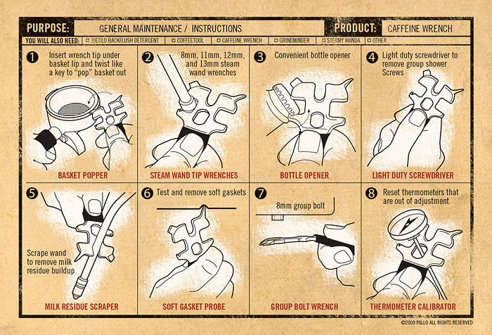 caffeine wrench instructions